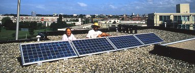 start of our solar adventure (summer 2000)