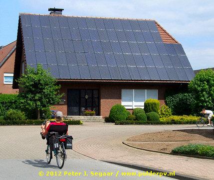 Photovoltaic projects in the border region of dutch achterhoek gelderland and germany - Van schaduw dak ...