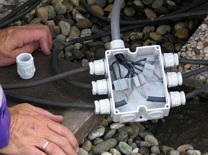 Lasdoos waterdicht maken led verlichting watt - Hoe u een projector te installeren buiten ...